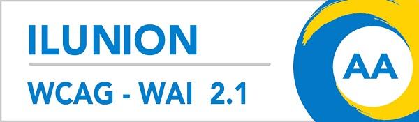 Logo de la certificació WCAG-WAI AA