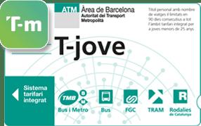 T-Jove Barcelona Metro Bus Tickets | Transports