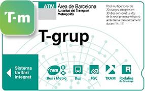 T Grup Barcelona Metro Bus Tickets Transports Metropolitans De