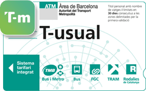 Barcelona Bus And Metro Prices Transports Metropolitans De Barcelona