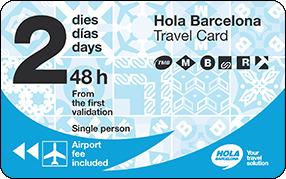 Carte Transport Barcelone Prix.Hola Barcelona Travel Card Transports Metropolitans De Barcelona