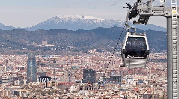 Teleférico de Montjuïc   Teleférico de Barcelona   Transports ...